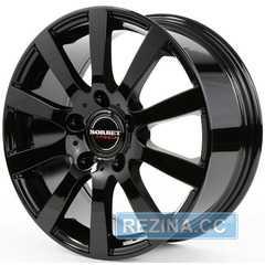 Купить BORBET C2C Glossy Black R17 W7.5 PCD5x130 ET50 DIA71.6