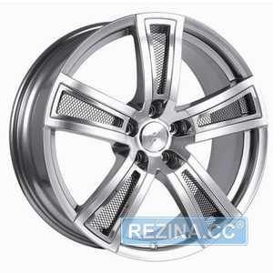 Купить FONDMETAL TECH 6 Shiny Silver Naked R17 W7.5 PCD5x114.3 ET42 DIA67.1