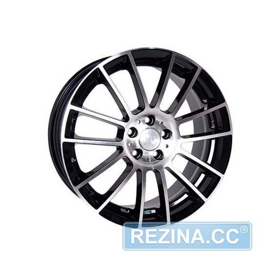 RW (RACING WHEELS) H-408 BK/FP - rezina.cc