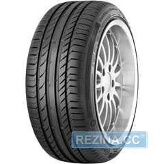 Купить Летняя шина CONTINENTAL ContiSportContact 5 SUV 255/55R18 105W