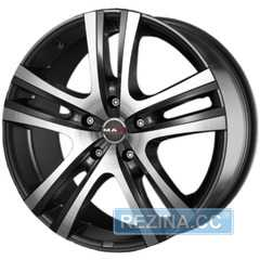 Купить MAK Aria Gun Metallic Mirror Face R17 W7.5 PCD5x130 ET45 DIA71.6