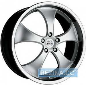 Купить ANTERA 343 Chrystal Titanium R18 W8 PCD5x120 ET14 DIA74.1