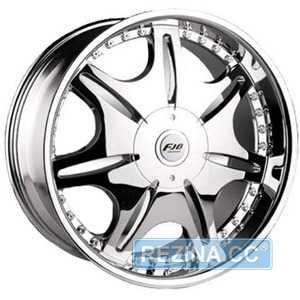 Купить FJB 318 Chrome R20 W8.5 PCD10x120/130 ET35 DIA74.1