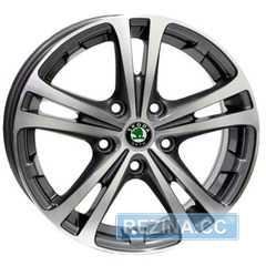 Купить WSP ITALY W3502 DANUBIO SKODA POLISHED R15 W6 PCD5x112 ET47 DIA57.1