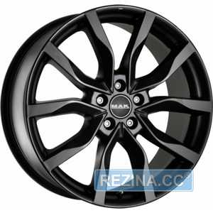 Купить MAK HIGHLANDS Matt Black R17 W7 PCD5x114.3 ET40 DIA76