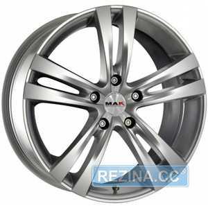 Купить MAK ITH Hyper Silver R15 W6.5 PCD5x114.3 ET40 DIA76