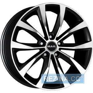 Купить MAK Wolf Black Mirror R18 W7 PCD5x114.3 ET45 DIA67.1