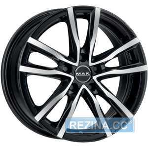 Купить MAK Milano Black Mirror R18 W8 PCD5x112 ET42 DIA76