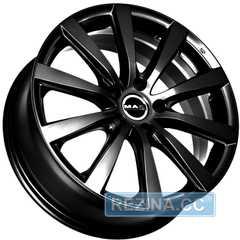 Купить MAK Iguan Gloss black R17 W7 PCD5x114.3 ET49 DIA66.1