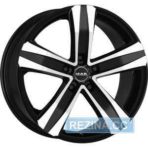 Купить MAK Stone 5 T Black Mirror R18 W8.5 PCD5x127 ET35 HUB71.6