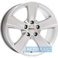 Купить MAK Fuoco Silver R18 W9 PCD5x130 ET50 HUB71.6