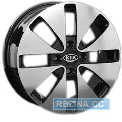 Купить REPLICA KI 52 BKF R15 W6 PCD4x100 ET48 HUB54.1
