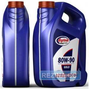 Купить Трансмиссионное масло AGRINOL Gold 80W-90 API GL-5 (4л)