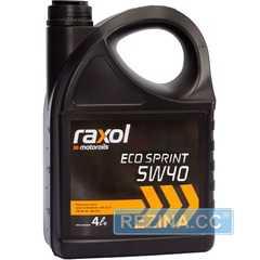 Купить Моторное масло RAXOL Eco Sprint 5W-40 (4л)
