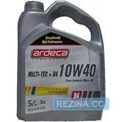 Купить Моторное масло ARDECA Multi-Tec Plus B4 Diesel 10W-40 (5л)