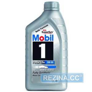 Купить Моторное масло MOBIL 1 Peak Life 5W-50 (1л)