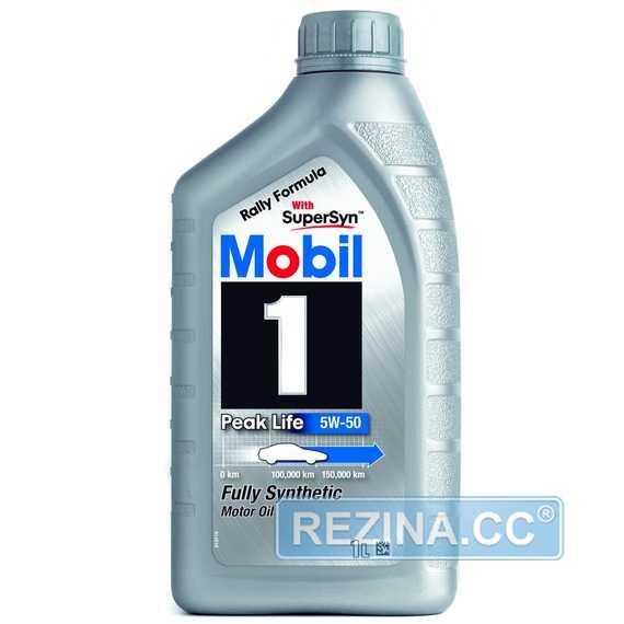 Моторное масло MOBIL 1 Peak Life - rezina.cc