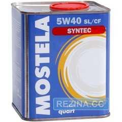 Моторное масло MOSTELA Syn-Tec - rezina.cc