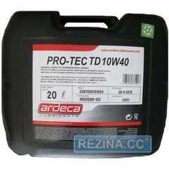 Моторное масло ARDECA PRO-TEC TD - rezina.cc
