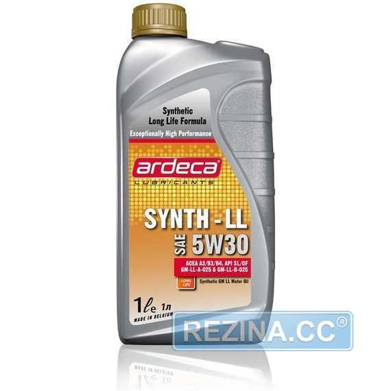 Моторное масло ARDECA SYNTH-LL - rezina.cc