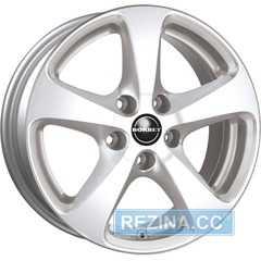 Купить BORBET CC Crystal Silver R17 W8 PCD5x114,3 ET35 DIA67.1