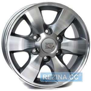 Купить WSP ITALY W1760 ANTHRACITE POLISHED R16 W7 PCD6x139.7 ET30 DIA106.1