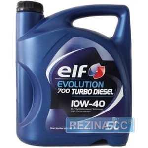 Купить Моторное масло ELF EVOLUTION 700 Turbo Diesel 10W-40 (5л)