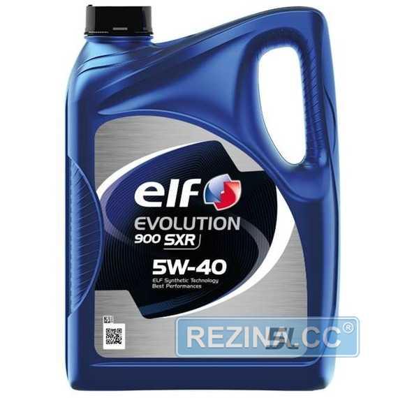 Купить Моторное масло ELF EVOLUTION 900 SXR 5W-40 (5л)