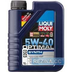 Моторное масло LIQUI MOLY Optimal Synth - rezina.cc