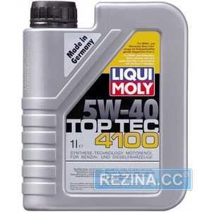 Купить Моторное масло LIQUI MOLY Top Tec 4100 5W-40 (1л)