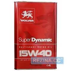 Купить Моторное масло WOLVER Super Dynamic 15W-40 (4л)