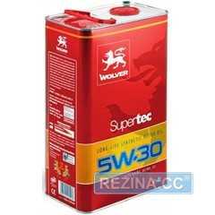Купить Моторное масло WOLVER Super Tec 5W-30 (4л)