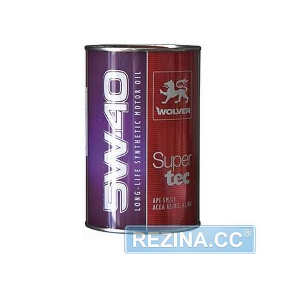 Моторное масло WOLVER Super Tec - rezina.cc
