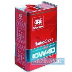 Купить Моторное масло WOLVER Turbo Super 10W-40 (4л)