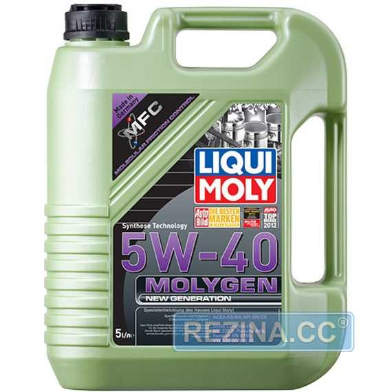Моторное масло LIQUI MOLY MOLYGEN New Generation - rezina.cc