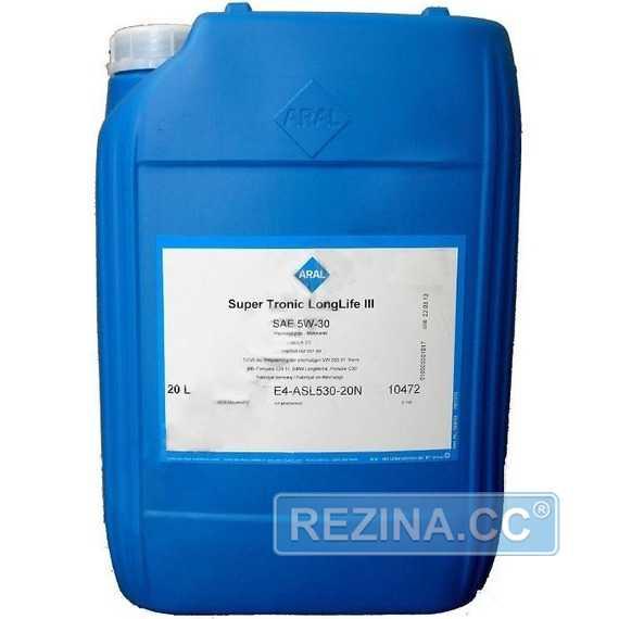 Моторное масло ARAL Super Tronic Longlife III - rezina.cc