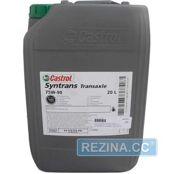 Трансмиссионное масло CASTROL Syntrans Transaxle - rezina.cc