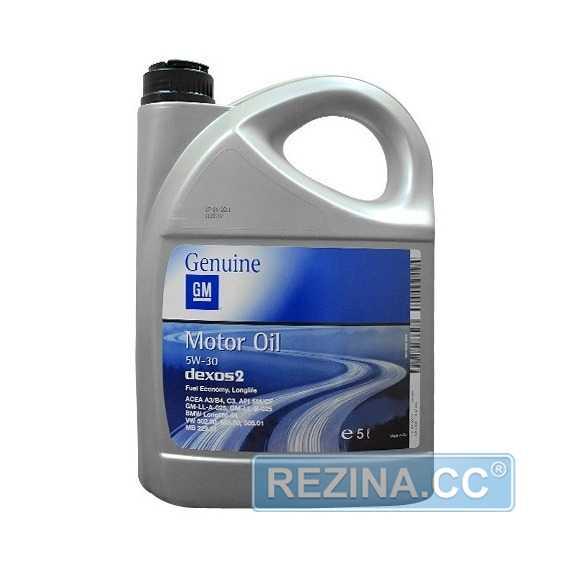 Моторное масло GM Dexos 2 Longlife - rezina.cc