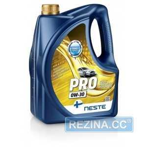 Купить Моторное масло NESTE City Pro 0W-30 A5/B5 API SL/CF (4л)