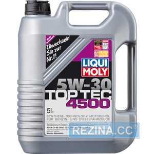 Купить Моторное масло LIQUI MOLY TOP TEC 4500 5W-30 (5л)