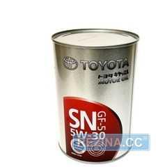 Купить Моторное масло TOYOTA MOTOR OIL 5W-30 SN/CF (1л)