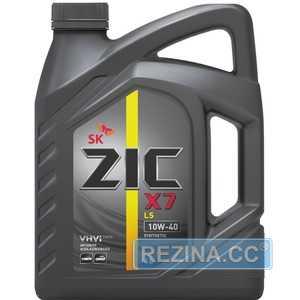 Купить Моторное масло ZIC X7 LS 10W-40 (6л)