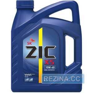 Купить Моторное масло ZIC X5 10W-40 (6л)