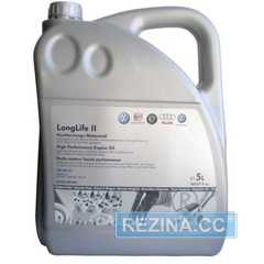 Моторное масло VAG Long Life II (G052183M4) - rezina.cc