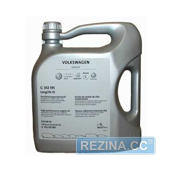 Моторное масло VAG Long Life III - rezina.cc