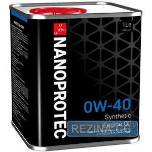Купить Моторное масло NANOPROTEC Engine Oil 0W-40 (1л)