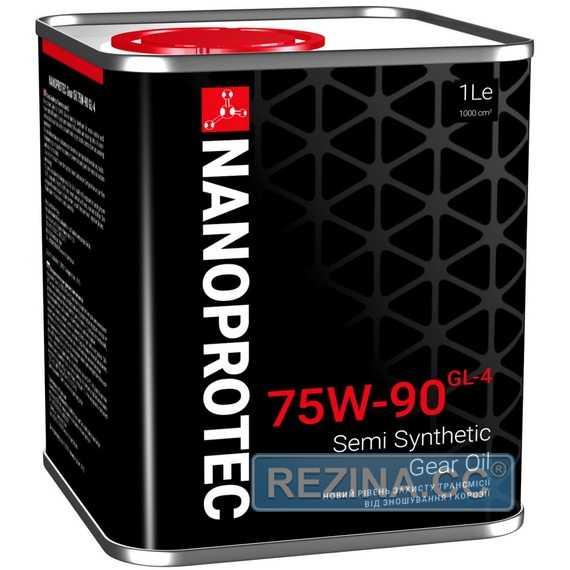 Трансмиссионное масло NANOPROTEC Gear Oil - rezina.cc