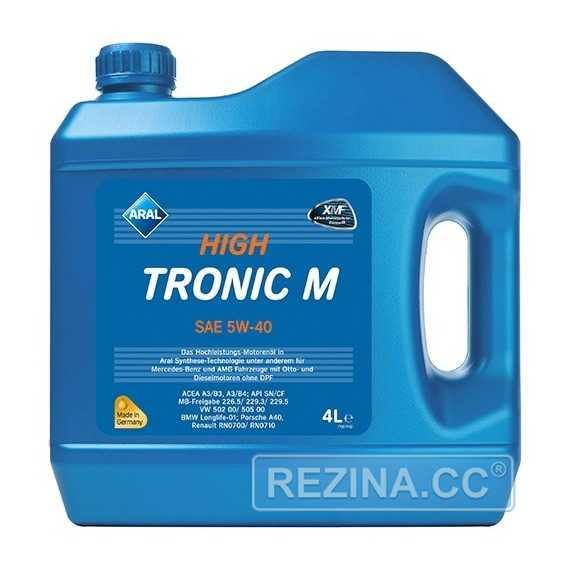 Моторное масло ARAL High Tronic M - rezina.cc