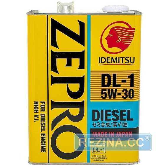 Моторное масло IDEMITSU Zepro Diesel DL-1 - rezina.cc