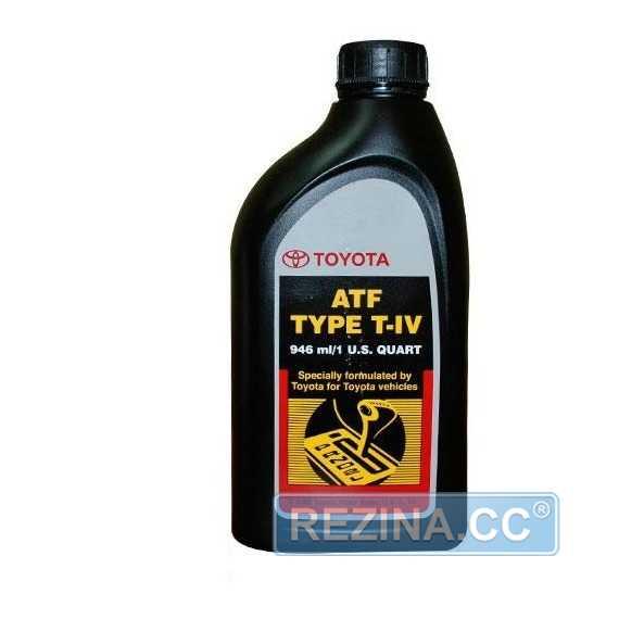 Трансмиссионное масло TOYOTA ATF TYPE T-IV - rezina.cc